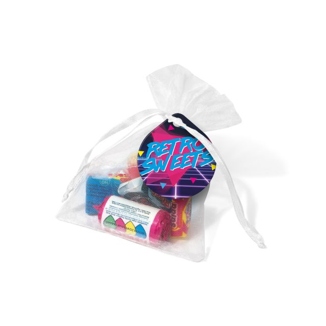 Organza Bag – Retro Sweets