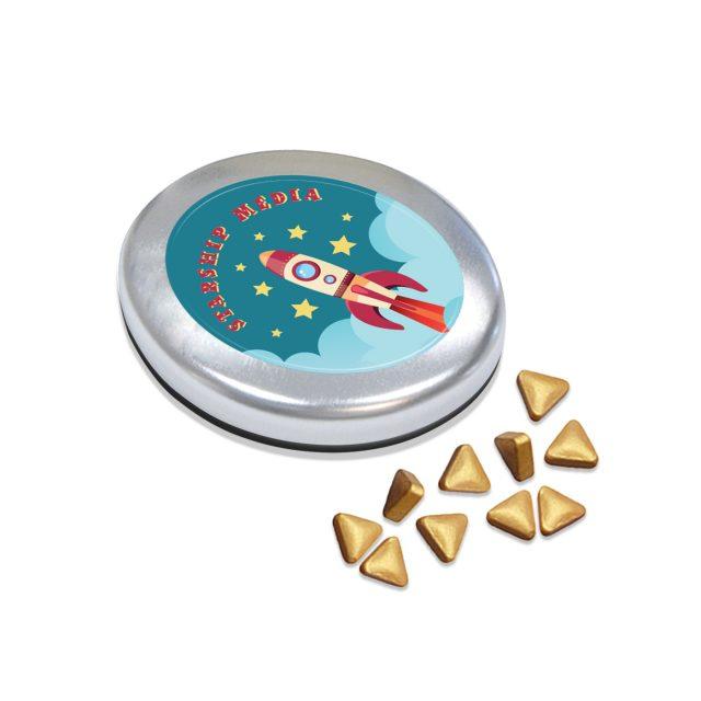 Kalfany – Snap-Master Tin – Gold Peppermints